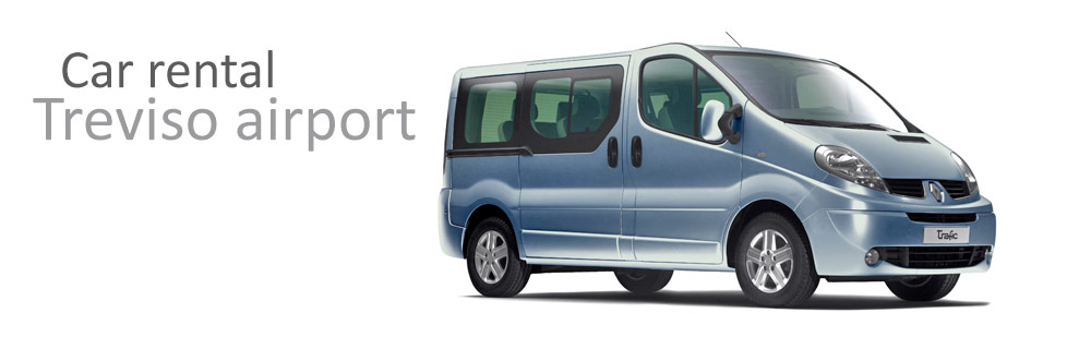 7/9 seater car rental treviso